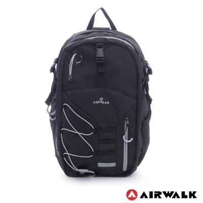 【AIRWALK】雙層護脊輕量筆電後背包