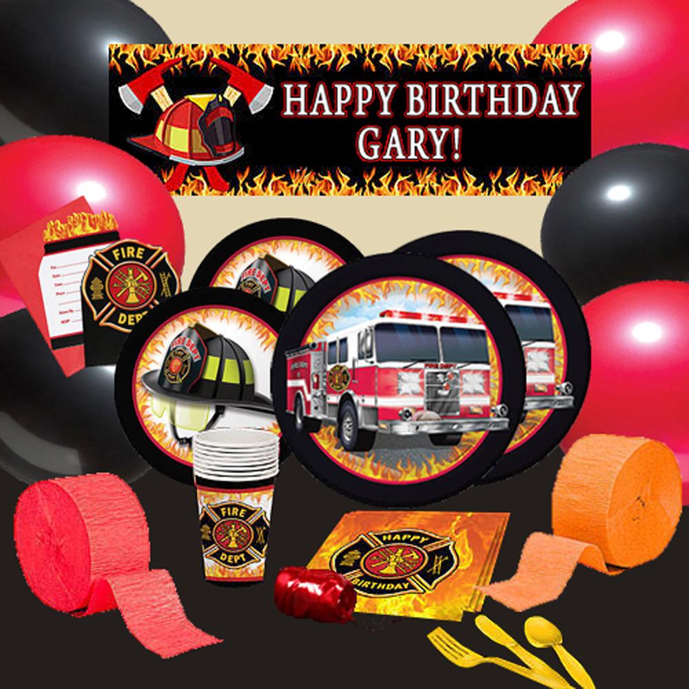 派對盒 PartyBox 生日派對懶人包 消防隊主題 8人豪華派對盒