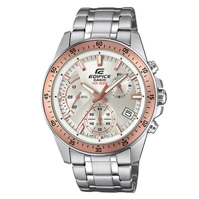 EDIFICE  衝刺釋放計時賽車腕錶-EFV-540D-7BVUDF-43mm