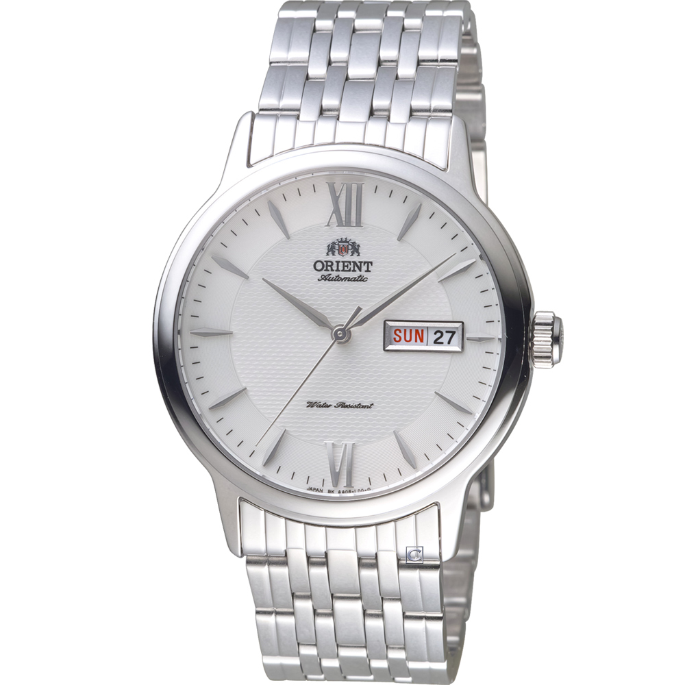 ORIENT東方錶Classic Design系列簡約機械錶(SAA05003W)