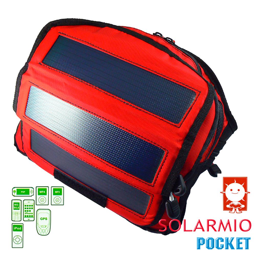 《SOLARMIO Pocket》隨身包太陽能充電器