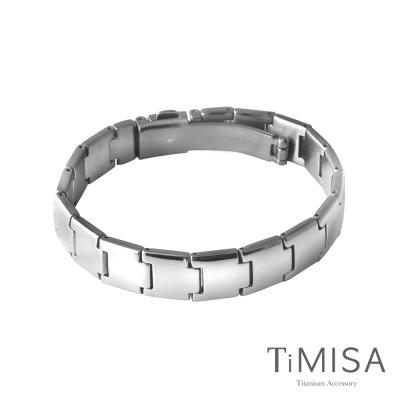 TiMISA 雅緻時尚 純鈦鍺手鍊