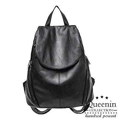 DF Queenin日韓 - 街訪東京大容量純色後背包
