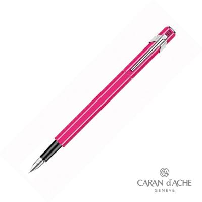 CARAN dACHE 卡達 - Office│line 849 鋼筆 螢光粉
