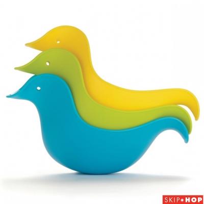 Skip Hop 藍綠款小鴨子洗澡玩具