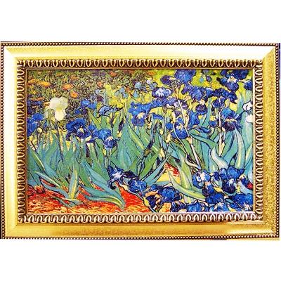 開運陶源《鳶尾花》梵谷名畫Iris (60x43cm)
