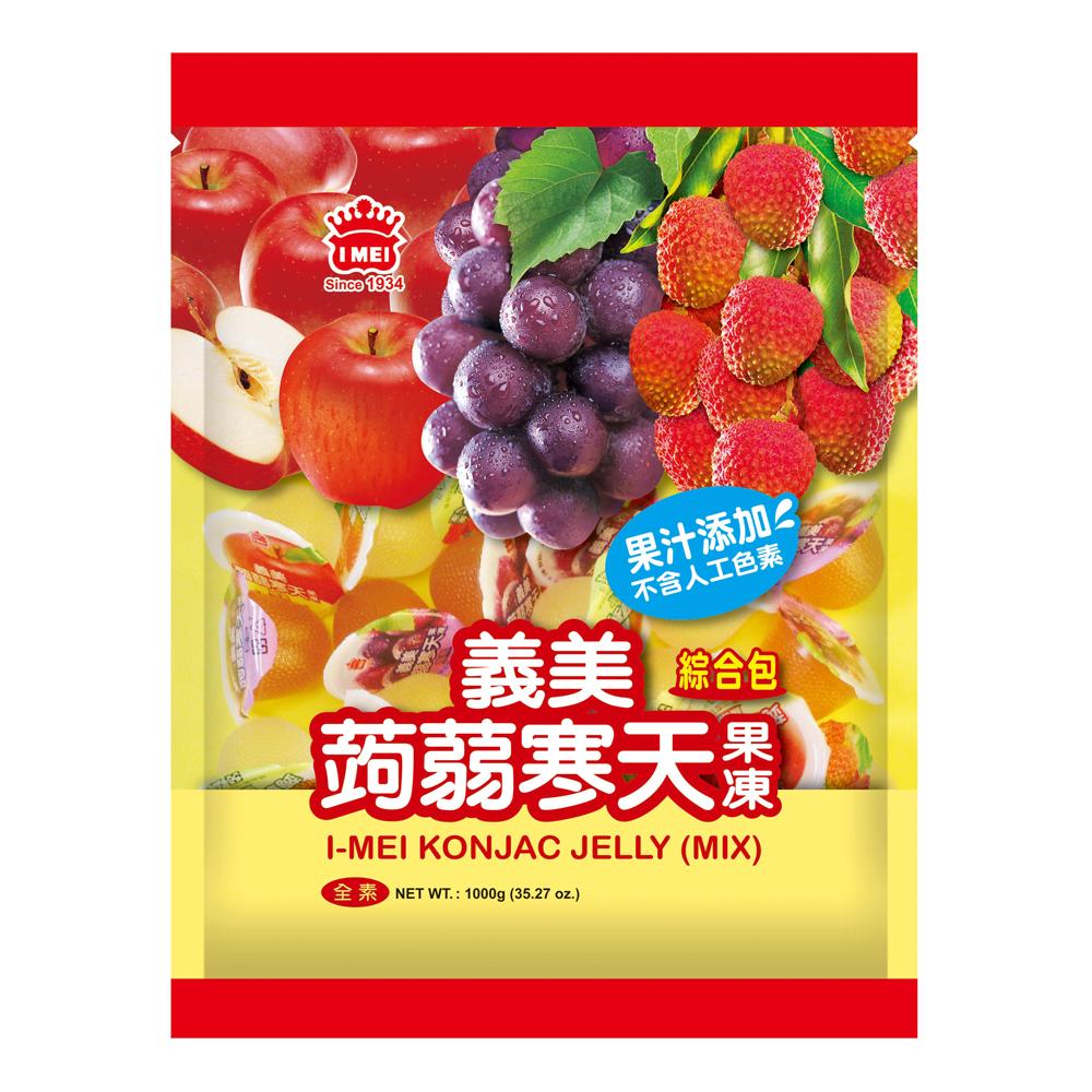 義美 綜合蒟蒻寒天果凍(1000g)