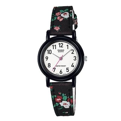 CASIO 復古美學花香氣息指針腕錶(LQ-139LB-1B2)-黑26mm
