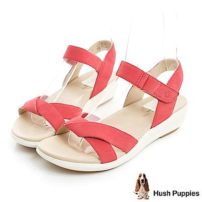 Hush Puppies LYRICALE 機能健走涼鞋-桃紅色