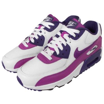 Nike慢跑鞋Air Max 90 GS路跑女鞋