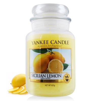 YANKEE CANDLE香氛蠟燭-西西里檸檬623g