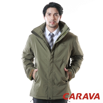 CARAVA 《極地禦寒外套》(橄綠)
