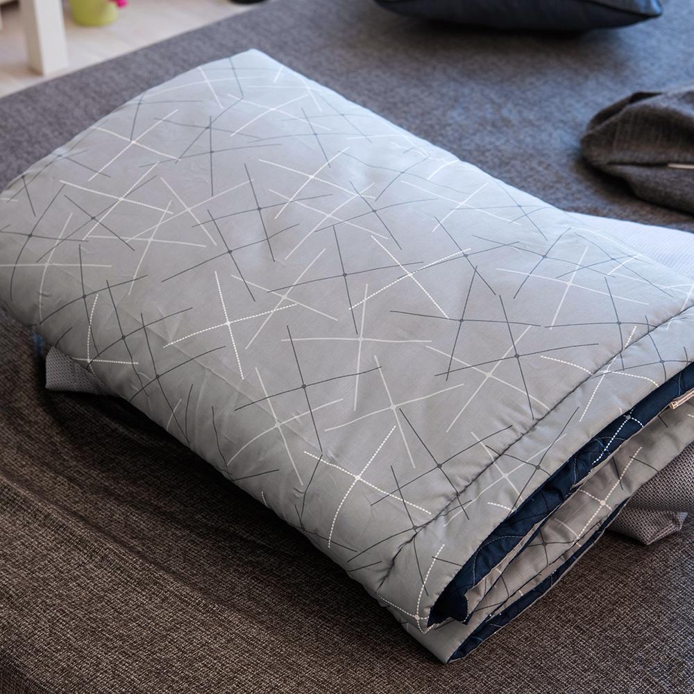 OLIVIA  幾何十字星  5尺X6尺 100%精梳純棉夏日涼被