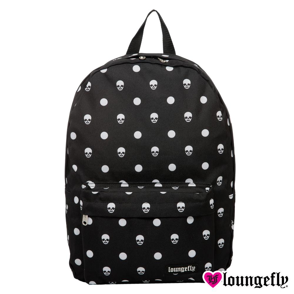 Loungefly-暗黑系骷髏頭後背包-LFBK0092