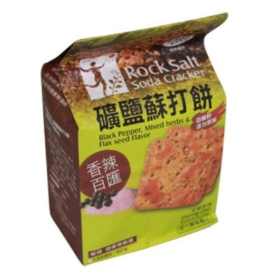 正哲 礦鹽蘇打餅-香辣百匯風味(126g/包)