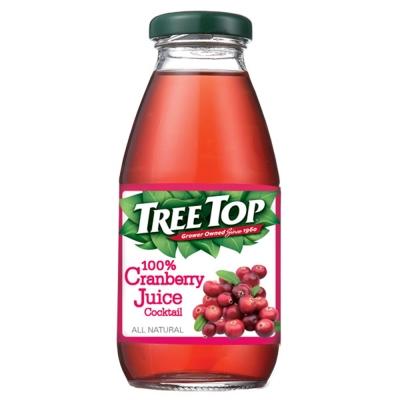 樹頂TreeTop 100%蔓越莓綜合果汁(300mlx4入)