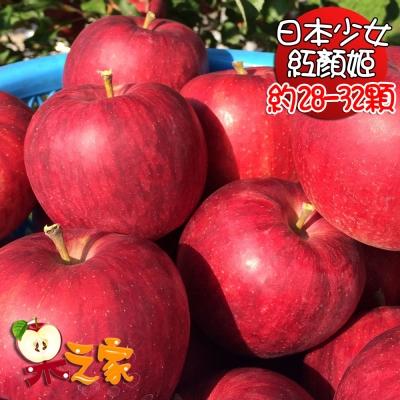 果之家 日本特級多汁少女紅顏姬蘋果10公斤(約28-32顆)