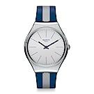 Swatch 超薄金屬系列 SKINSPRING 酷玩藍手錶