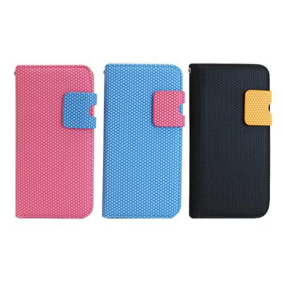 iStyle iPhone5/5S/SE 蜜蜂撞色皮套