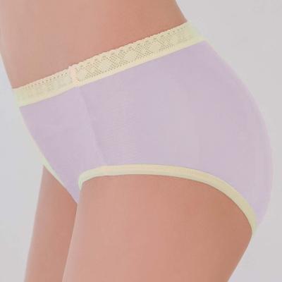 瑪登瑪朵-2015SS 低腰寬邊三角褲M-XL(時空紫)