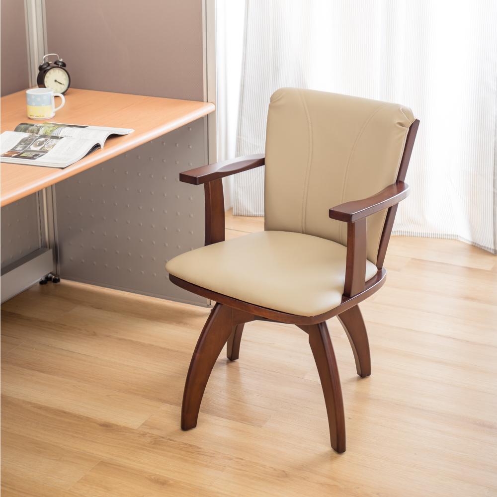 現代風 旋轉主人椅-62x62x84cm
