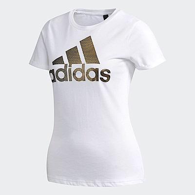 adidas Logo 短袖上衣 女 CX5163