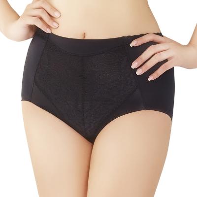 思薇爾 挺享塑系列M-XL高腰三角修飾褲(黑色)