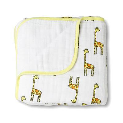 美國 aden+anais嬰幼兒被毯-可愛長頸鹿系列AA6027