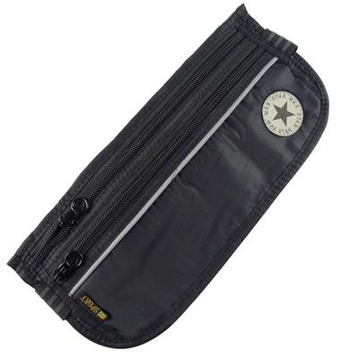 PUSH!嚴選 旅遊用品 3艙室6夾層 STAR 防搶護照隱形貼身腰包