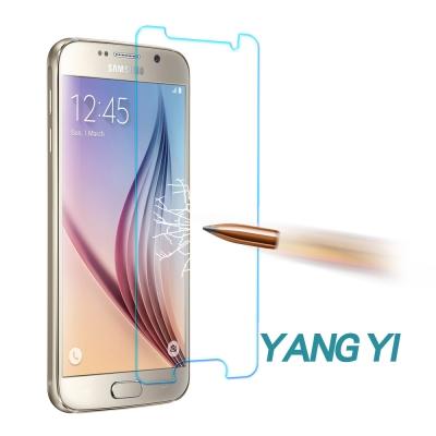 YANG YI 揚邑 Samsung S6 防爆防刮防眩弧邊 9H鋼化玻璃保護膜
