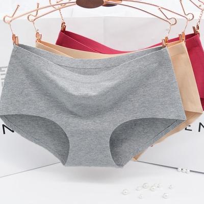 法式3D無縫透氣純棉無痕三角內褲孕婦內褲-三件入
