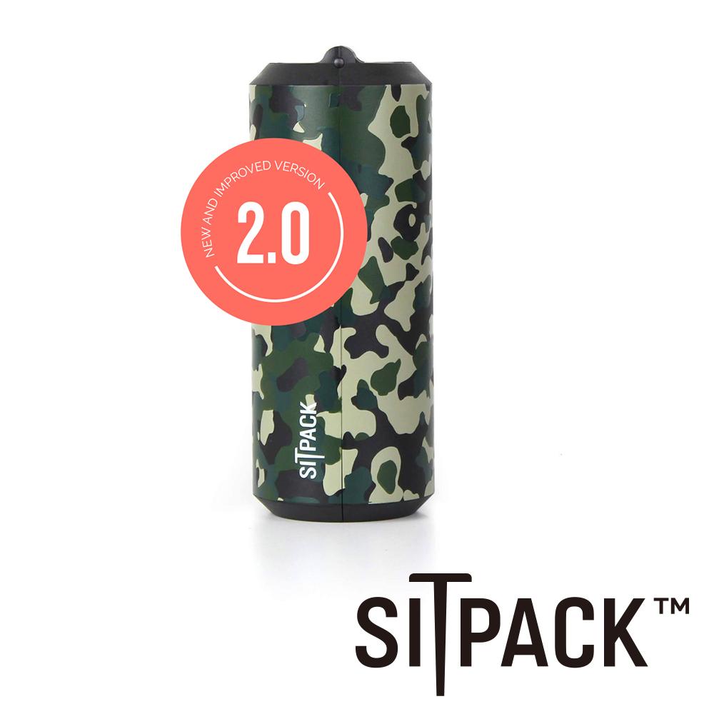 SitPack V2.0版 攝影師候景太空椅二代(排隊神器)-迷彩版 公司貨