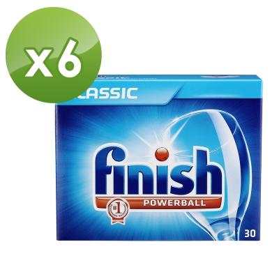 亮碟Finish-洗碗機強力洗滌球(30顆)X6