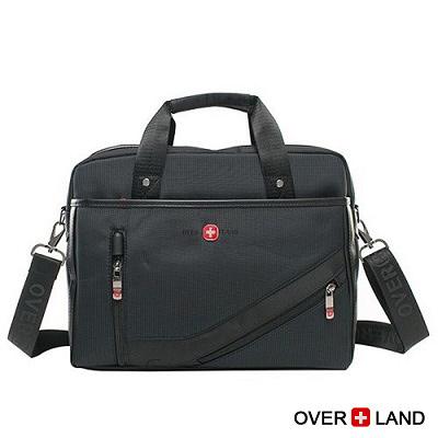 OVERLAND-美式十字軍x城市漫遊2WAYS素面公事包