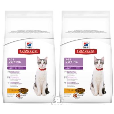 希爾思全新配方 高齡貓11+ 抗齡配方 3.5磅2包