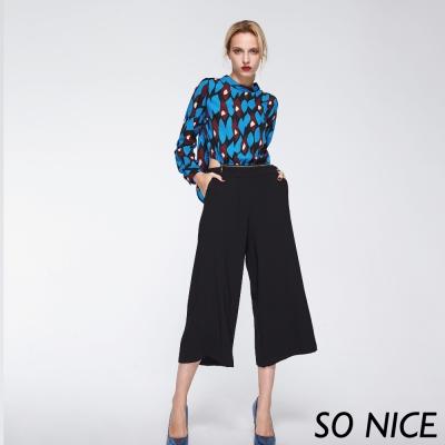SO NICE都會幾何可拆式連身褲