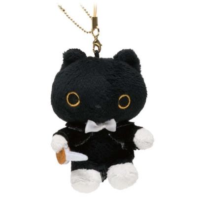 小襪貓夢幻鋼琴系列絨毛吊飾-指揮