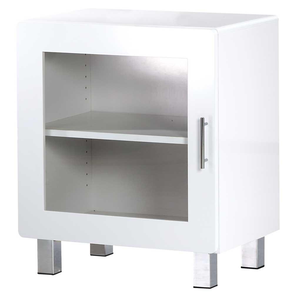 大都會單門鏡面收納櫃/展示櫃