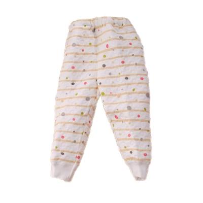 嬰幼兒三層棉居家睡褲 黃 k60058