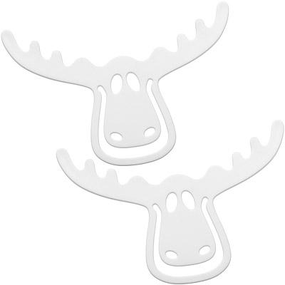 KOZIOL 麋鹿書籤(白2入)
