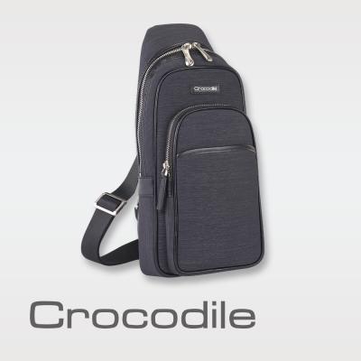 Crocodile Marvel布配皮系列單肩包  0104-07602