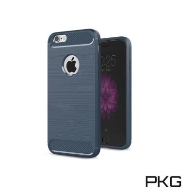 PKG  APPLE IPHONE7 PLUS 抗震防摔手機殼-碳纖維紋系列-經...