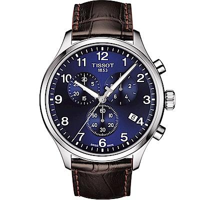 TISSOT CHRONO XL CLASSIC 計時腕錶(T1166171604700)