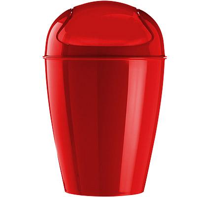 KOZIOL 搖擺蓋垃圾桶(紅S)