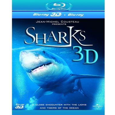 與鯊魚共舞 (3D/2D)  Sharks 3D 藍光B D