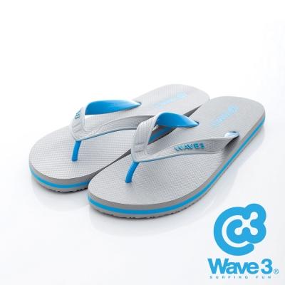 WAVE3【男】獨家設計ESP-四代人字夾腳拖鞋~灰