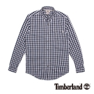 Timberland 男款Coolmax透氣格紋長袖襯衫