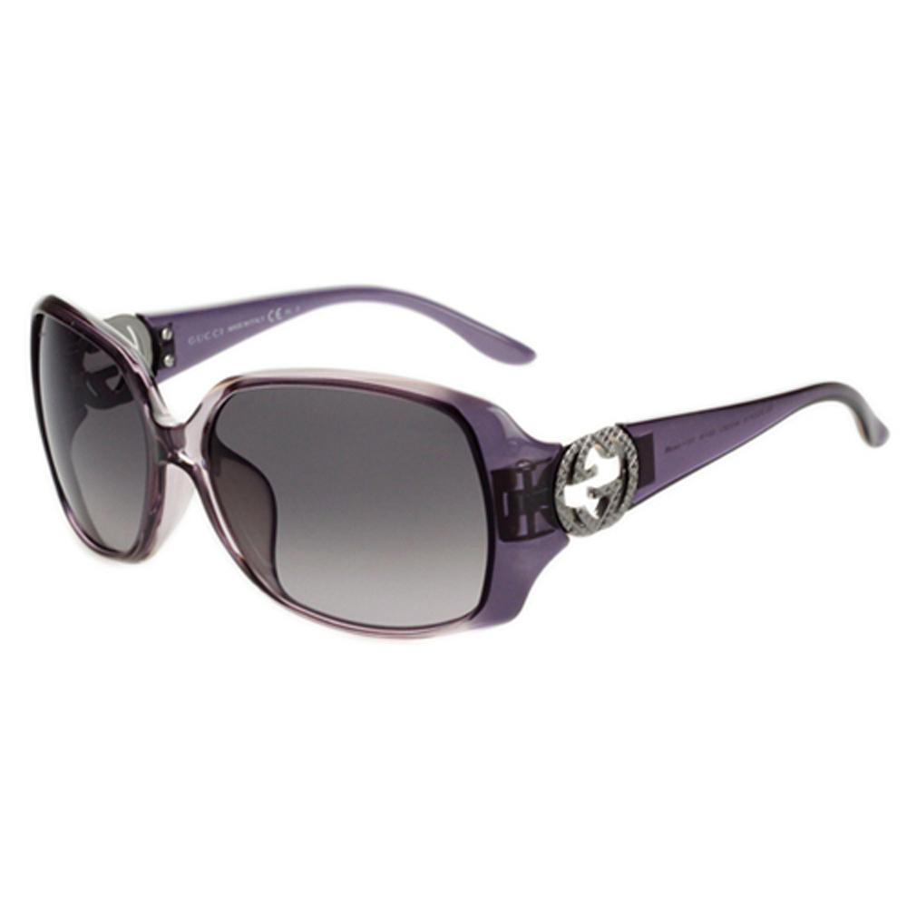 GUCCI-時尚太陽眼鏡(黑/琥珀/紫色/紫紅)