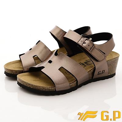 GP時尚涼拖-楔形涼鞋款-WSE85-88金色(女段)