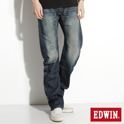 EDWIN503日本輕量3D機能牛仔褲-男款-中古藍